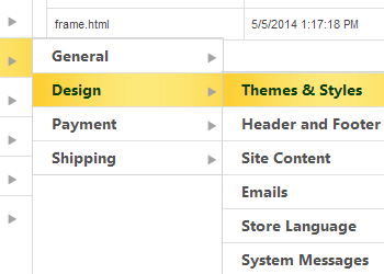 Changes Themes and Styles in your 3DCart webshop