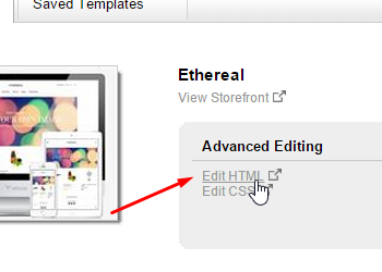 Edit it's html section and start using visitlead